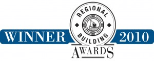 Regional Building Awards - Winner 2010
